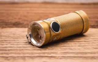 Olight - S Mini Baton Raw Brass