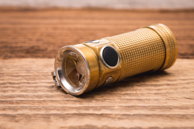 Olight - S Mini Baton Raw Brass