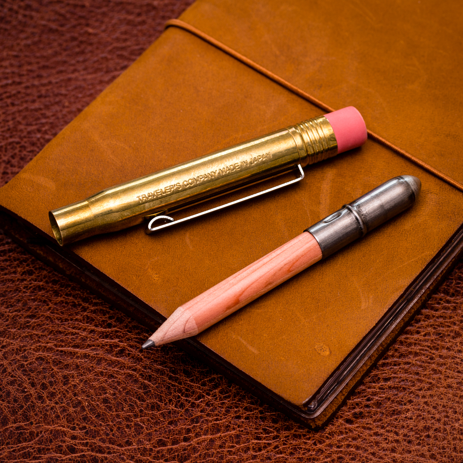 Traveler's Company - Brass Pencil Holder