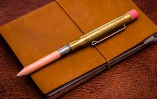 Traveler's Company - Brass Pencil Holder