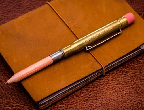 Traveler's Company – Brass Pencil Holder