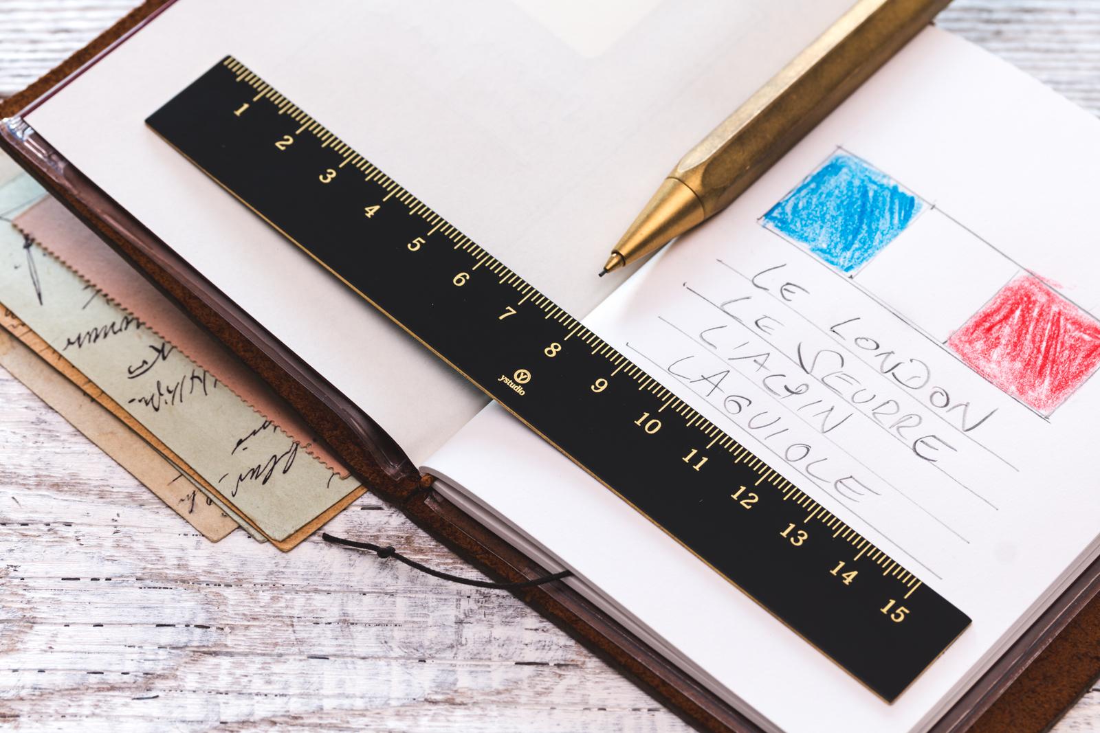 Ystudio - Brassing Ruler
