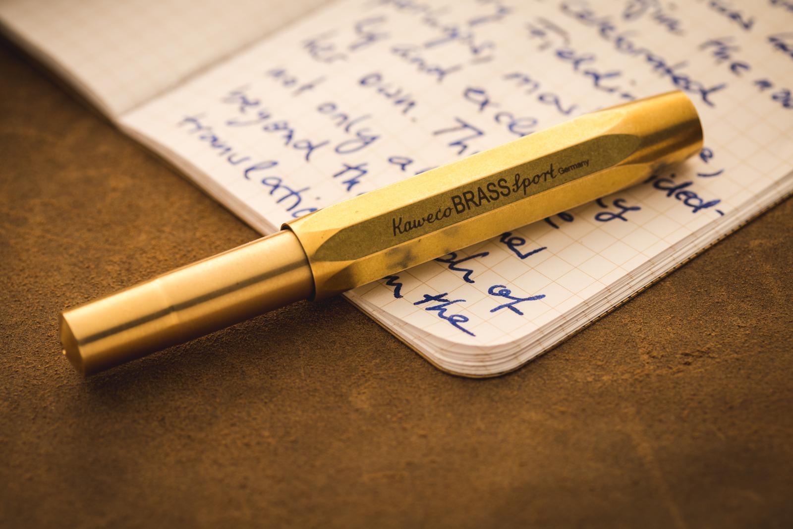 Kaweco - Brass Sport Fountain Pen