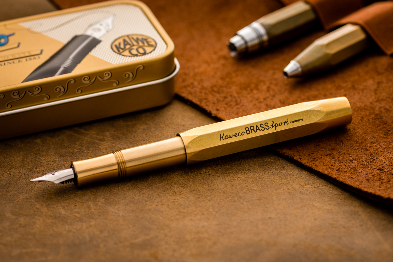 Kaweco - Brass Sport Fountain Pen