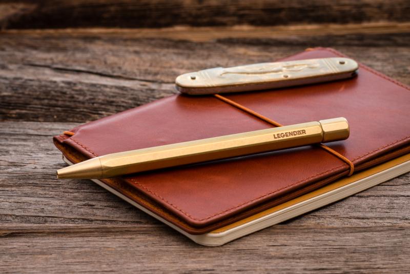 wholesale dealer 4711a bb298 Legendär - Twist Ballpoint Pen | All Things Brass