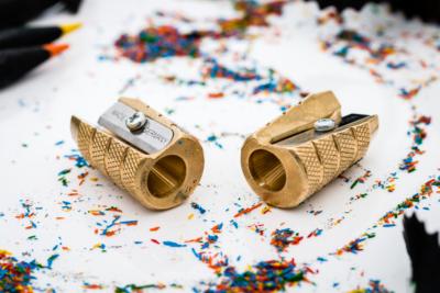 Möbius & Ruppert - Brass Grenade Pencil Sharpener