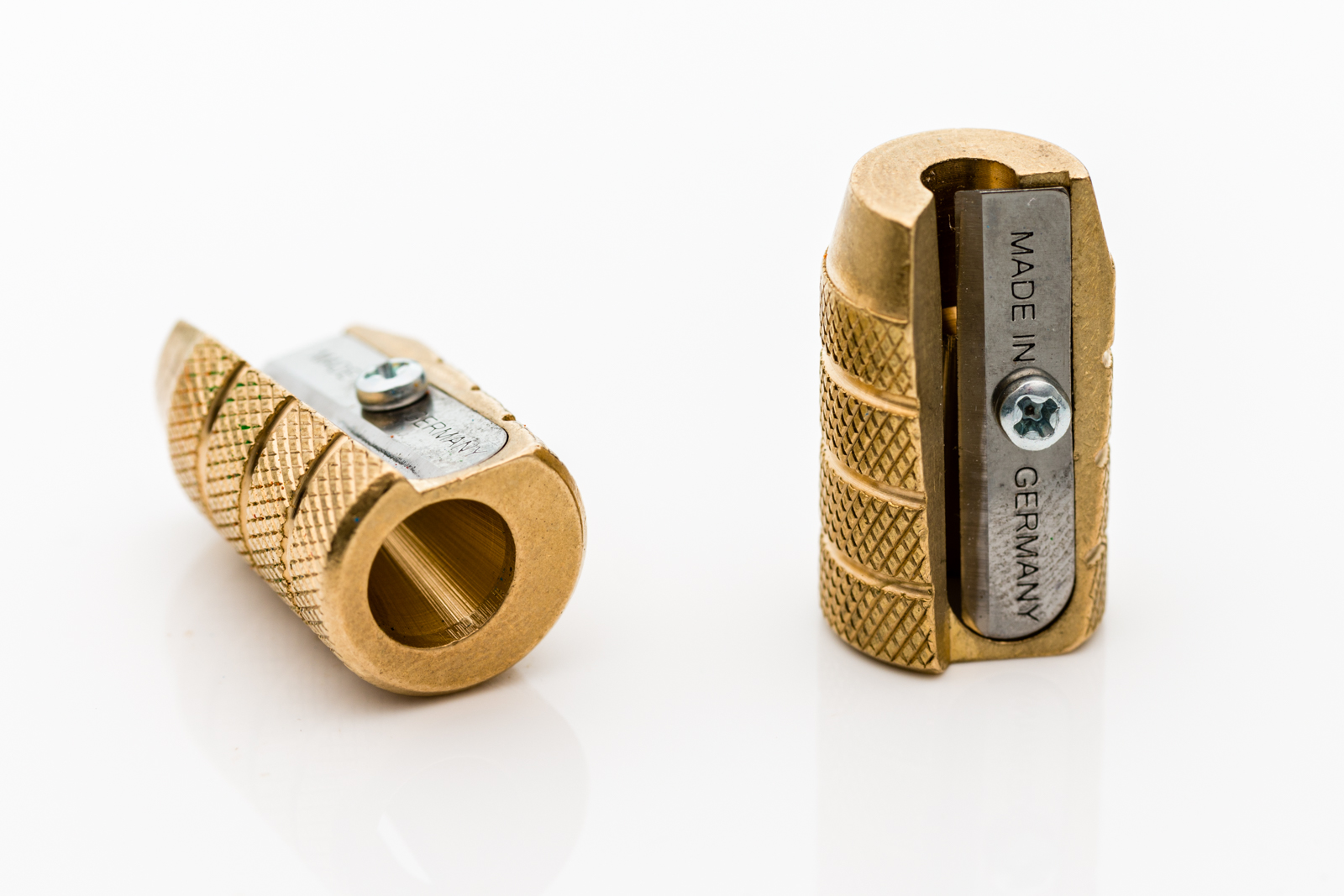 Möbius & Ruppert - Brass Grenade Pencil Sharpener