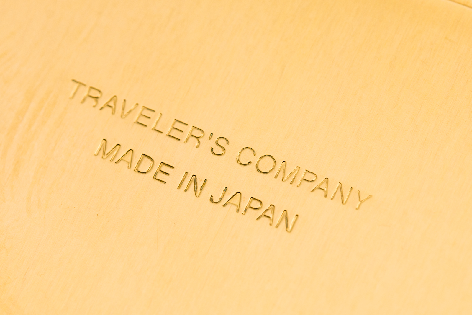 Traveler's Company - Brass Pen Case