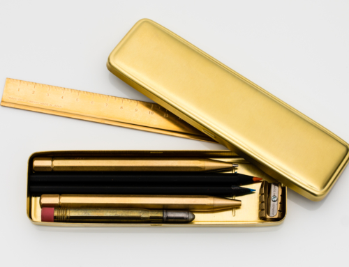 Traveler's Company – Brass Pen Case