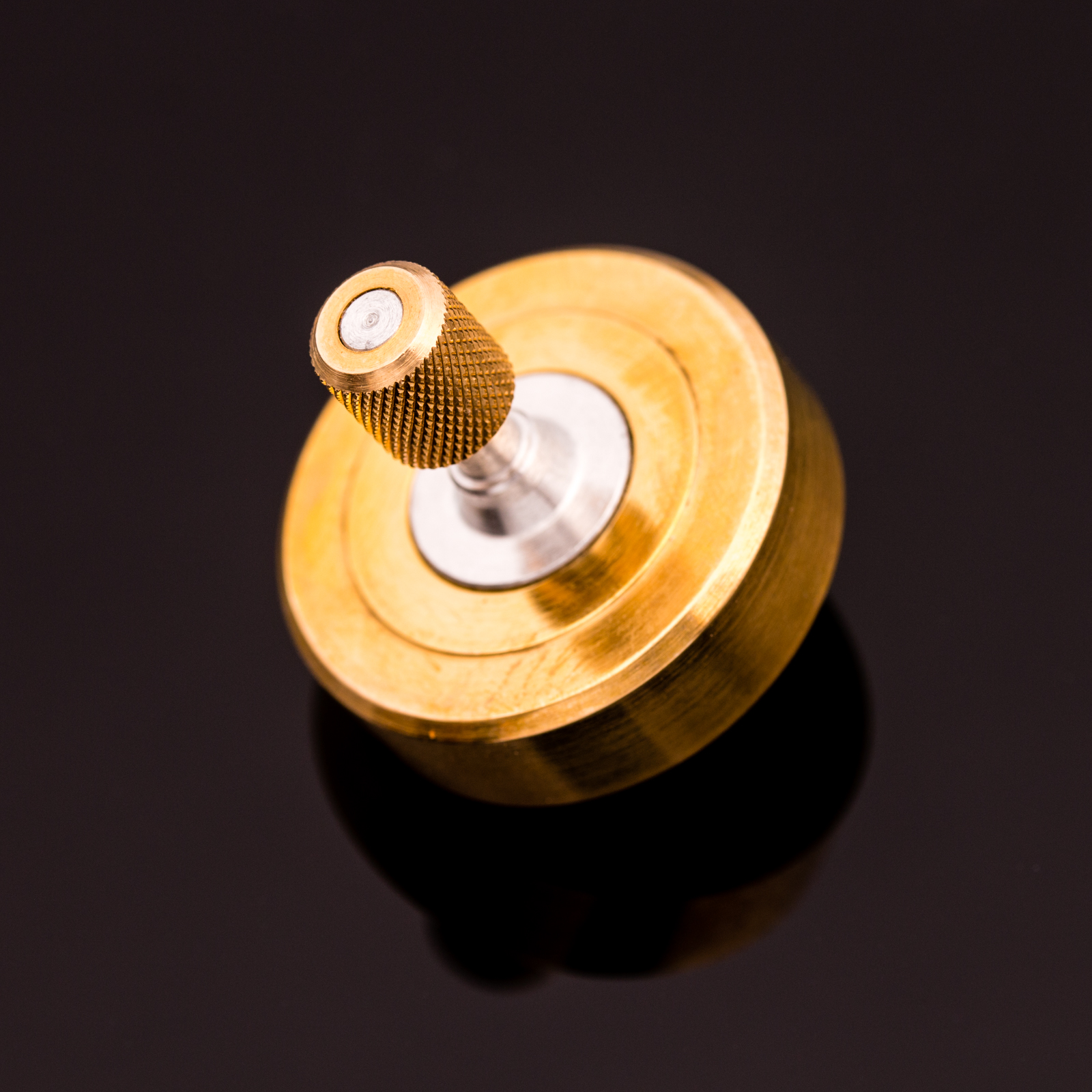 Vorso - Mk1 Spinning Top Brass
