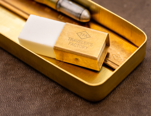 Traveler's Factory – Brass Eraser Holder