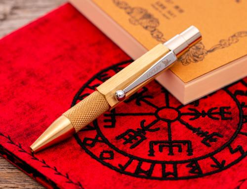 Loclen – Nanetto Ballpoint Pen Brass