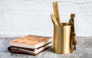 ferm Living - Brass Pencil Cup