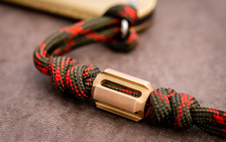 Pure EDC - Nato CNC Brass Bead
