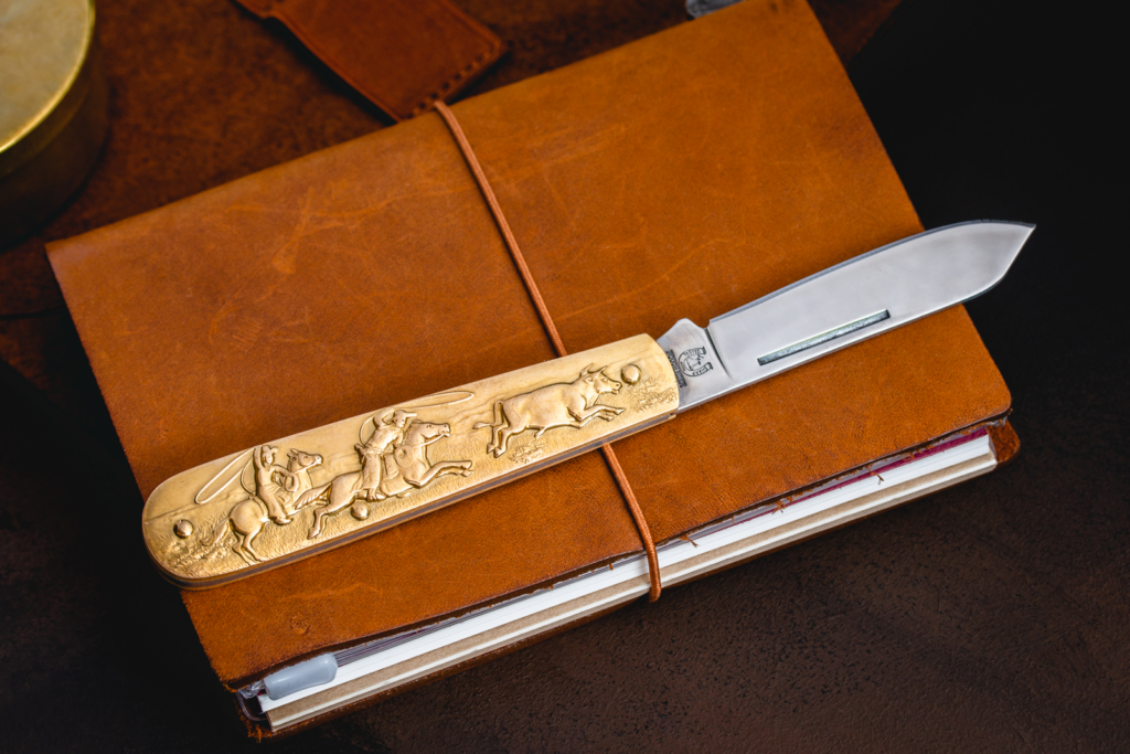 Rough Rider - Cowboy Knife | All Things Brass