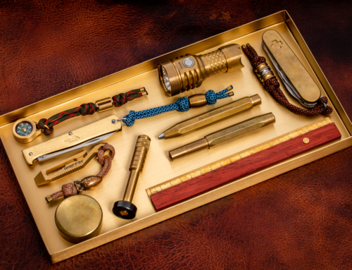 ferm Living – Brass Office Tray