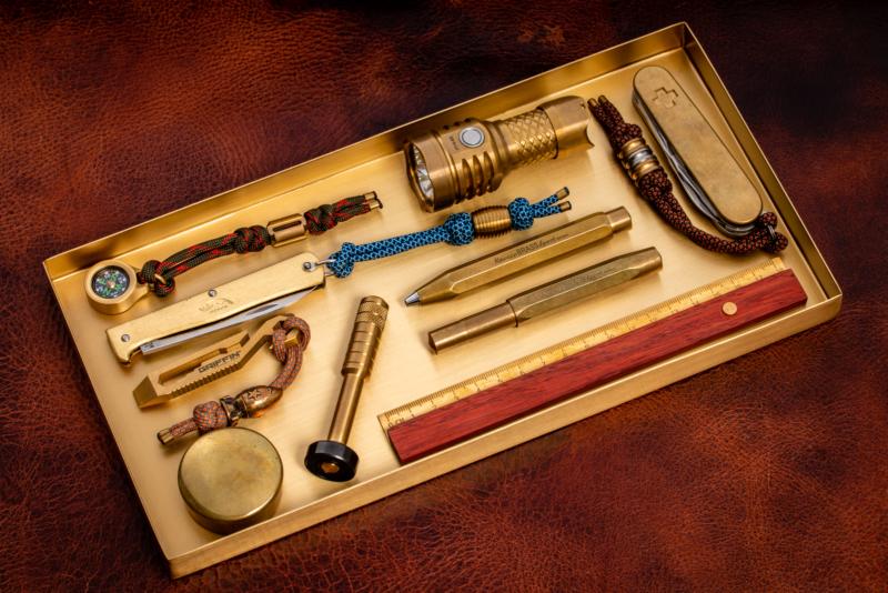 ferm Living - Brass Office Tray