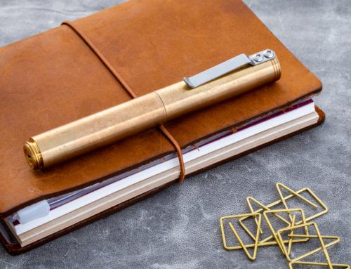 Schon DSGN – Brass Ballpoint Pen