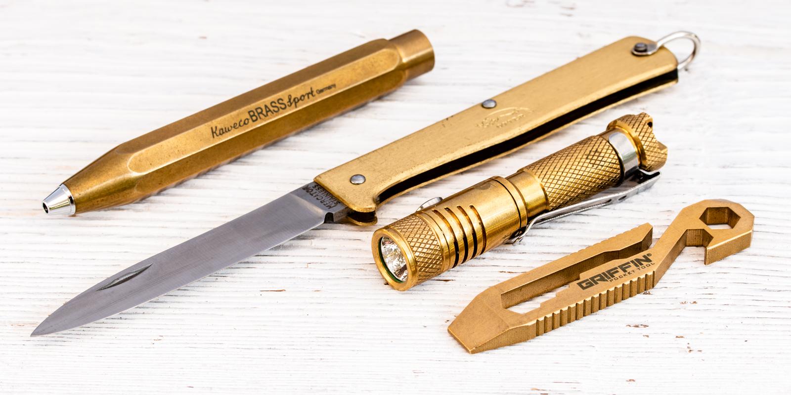 Brass EDC Kit - Beginner's Edition