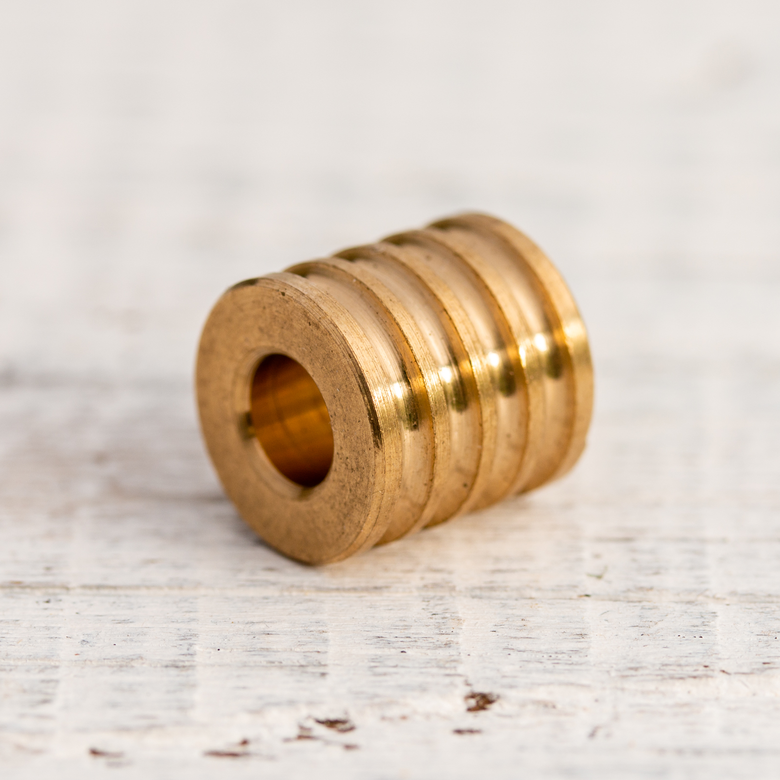 Pure EDC - Drilled Brass Bead