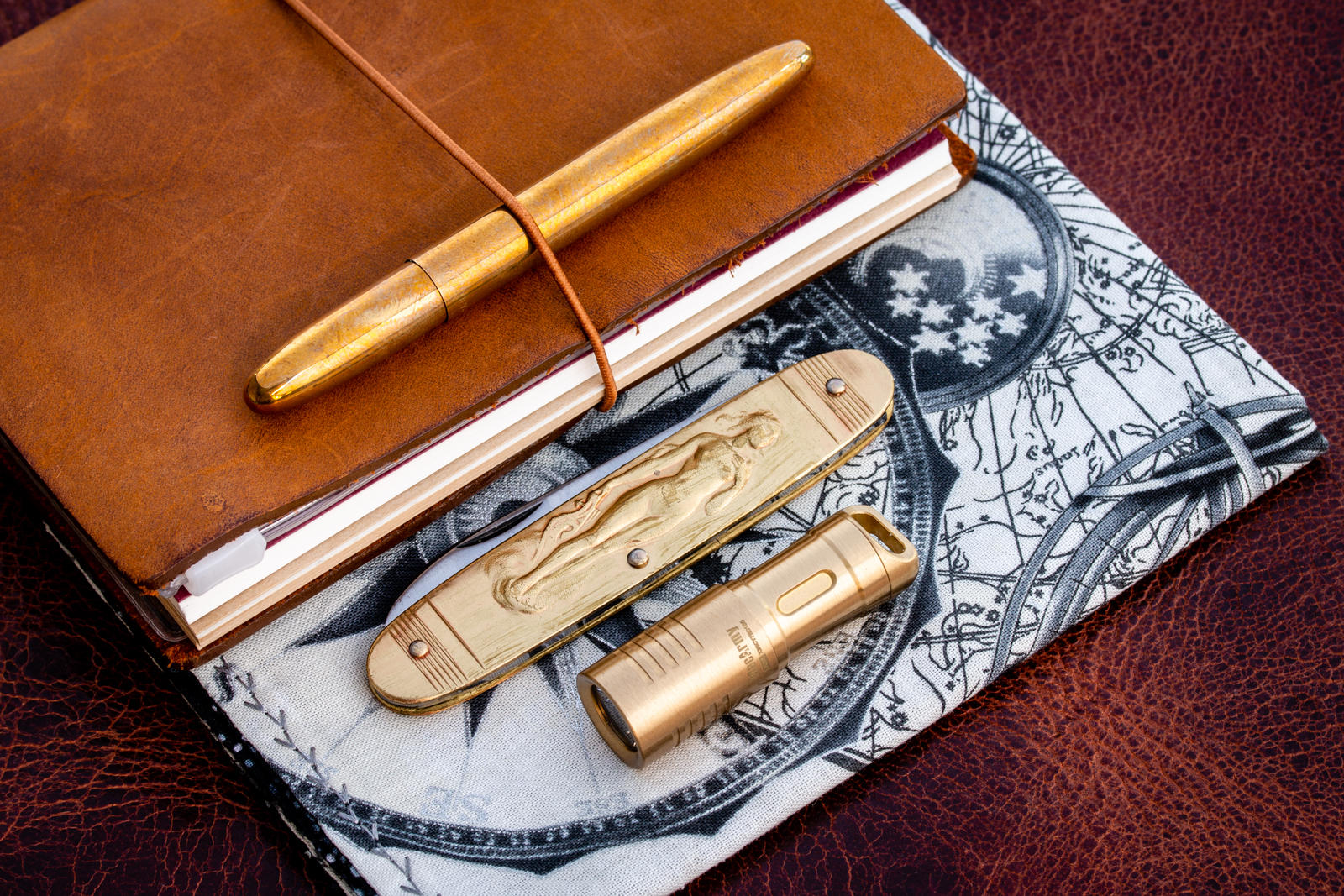 Brass EDC Kit - Minimalist Edition